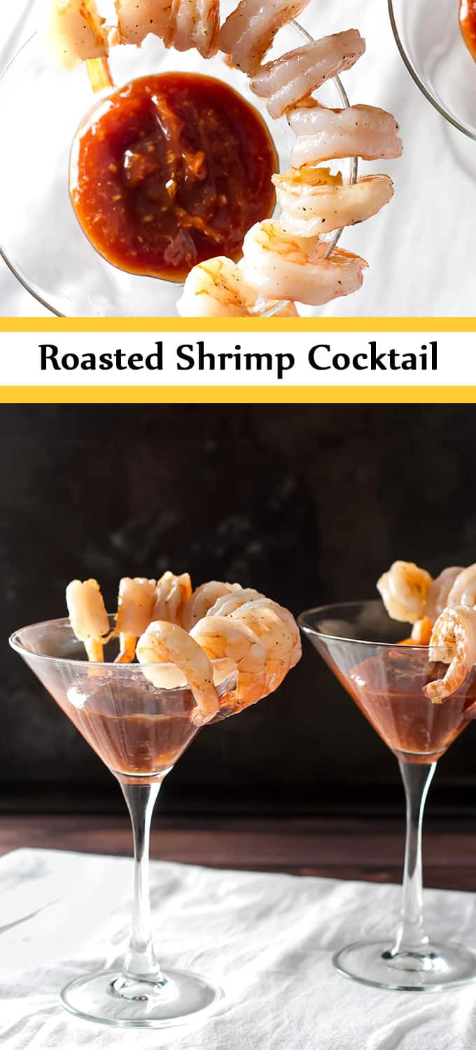 Shrimp cocktail is a classic! | girlgonegourmet.com