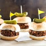 Grown-Up Sloppy Joes | girlgonegourmet.com