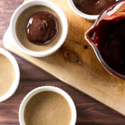 Peanut Butter Pots de Creme