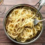 Roasted Garlic Pasta   girlgonegourmet.com