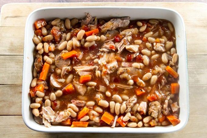 Slow Cooker Cassoulet | girlgonegourmet.com