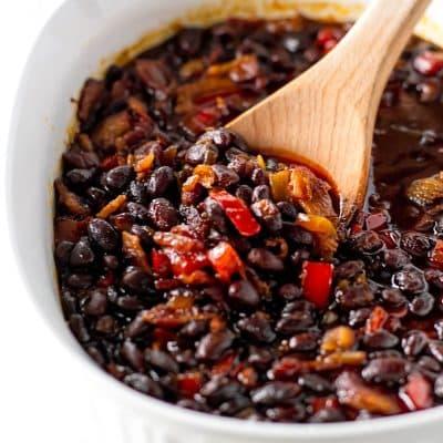Baked Black Beans