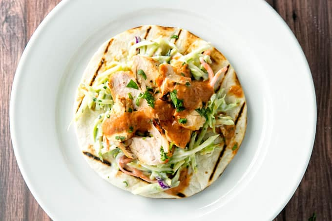Grilled Chipotle Chicken Tacos | girlgonegourmet.com