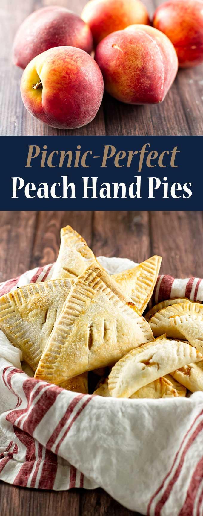 Easy peach hand pies | girlgonegourmet.com