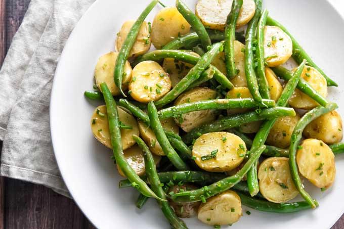 Green Bean Potato Salad | girlgonegourmet.com