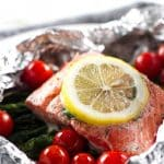 photo of salmon packets