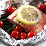 Grilled Salmon Packets | girlgonegourmet.com