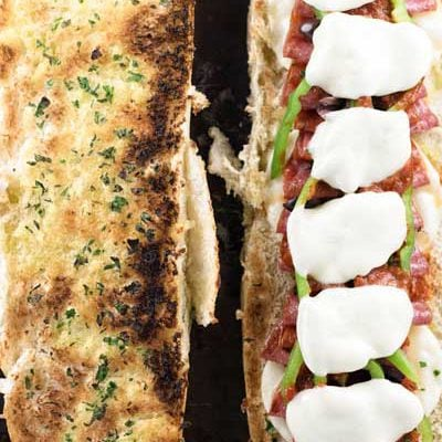 Loaded Pizza Sandwiches