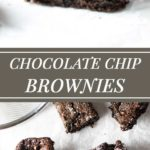 Easy one-bowl rich and decadent chocolate chip brownies | girlgonegourmet.com