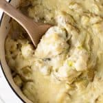 Creamy Potato Casserole with Leeks | girlgonegourmet.com