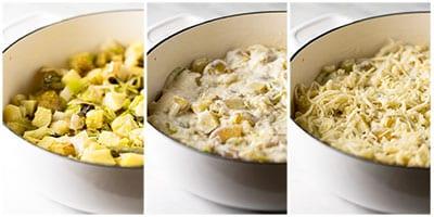 how to make creamy potato casserole with leeks