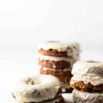 Gingerbread Baked Donuts