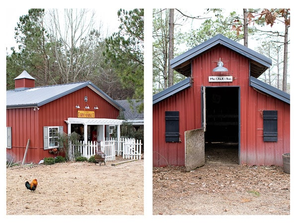Photo collage Photo 1: Ray Family Farms Market Photo 2: Red Chicken Coop