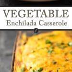 Vegetable Enchilada Casserole | girlgonegourmet.com