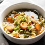 Chicken Noodle Soup | girlgonegourmet.com