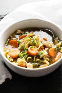 Chicken Noodle Soup   girlgonegourmet.com