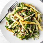 Roasted Parsnip Salad | girlgonegourmet.com