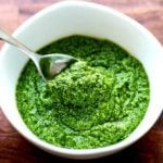 Spinach and Parsley Pesto
