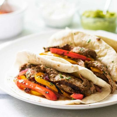 Weeknight Beef Fajitas