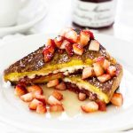 Stuffed French Toast | #ad #bonnemaman #sayitwithhomemade