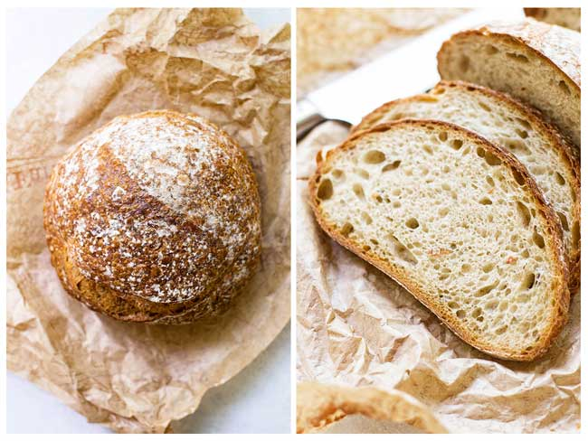 Bread from La Farm Bakery for crab salad sandwich | girlgonegourmet.com