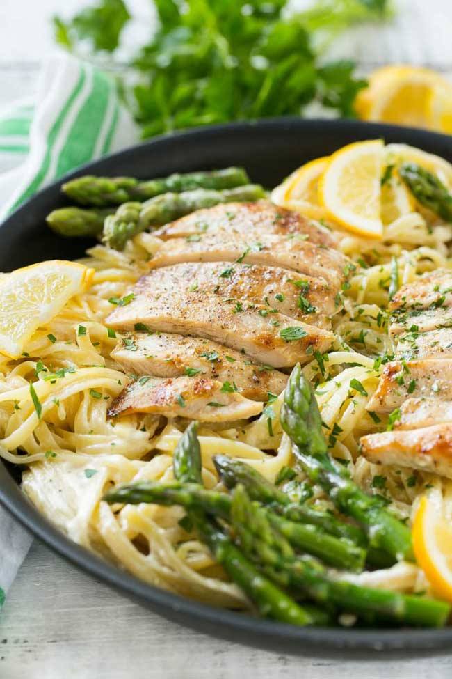 25 Easy Pasta Recipes: Lemon Asparagus Pasta