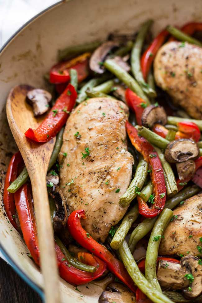 photo of One-Pot Balsamic Chicken Skillet