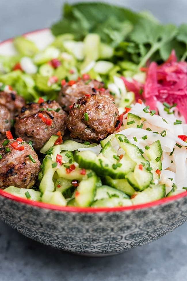 24 Meatball Recipes: Vietnamese Pork Meatballs