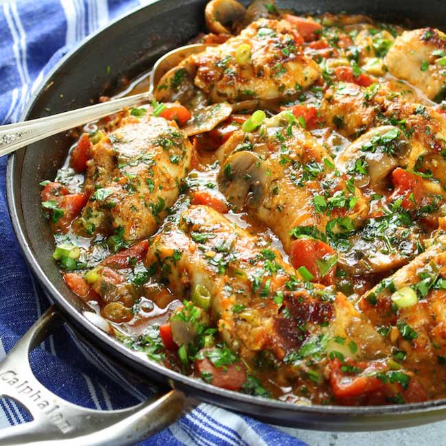 photo of Chicken Cannelloni aka Chicky Chicky Can-Can