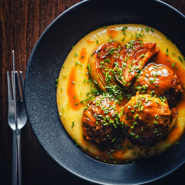 24 Meatball Recipes: Braised Pork Meatballs