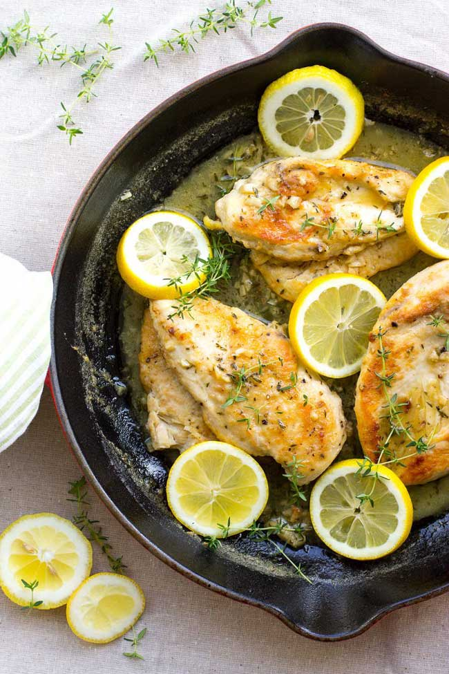 photo of Quick Lemon Thyme Chicken