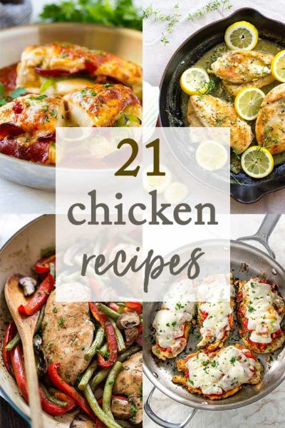 21 Boneless Skinless Chicken Breast Recipes