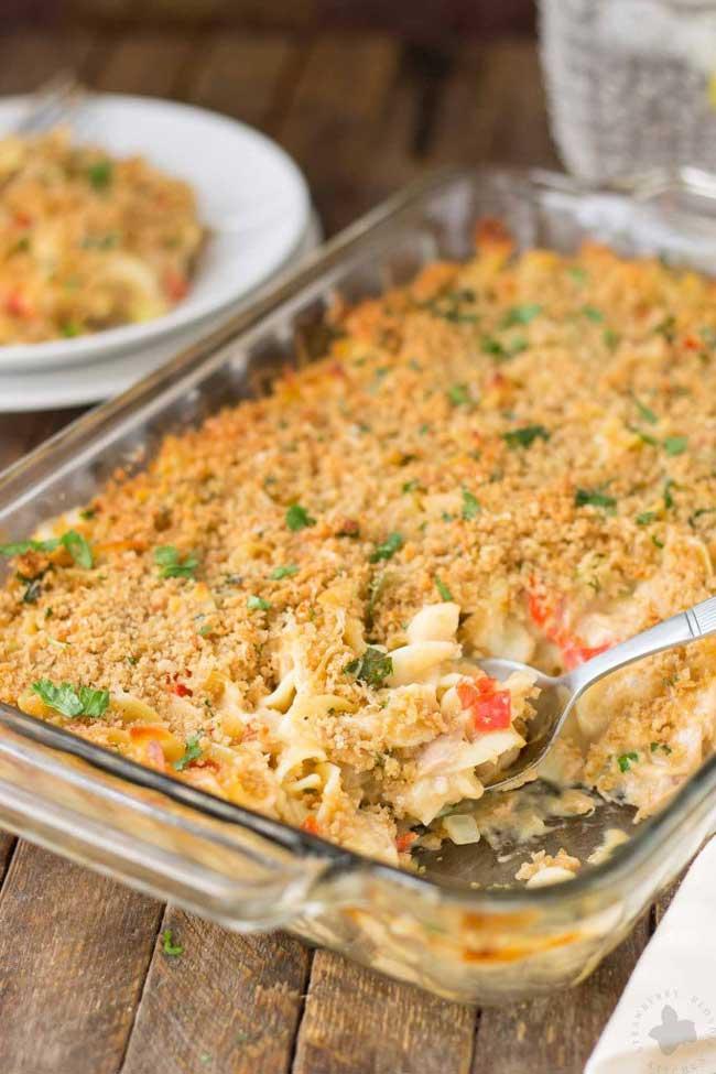 Photo of Tuna Noodle Casserole