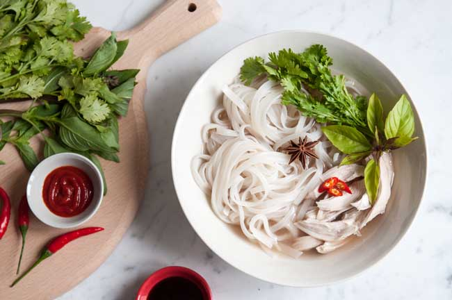 16 Comforting Chicken Soup Recipes: Chicken Pho