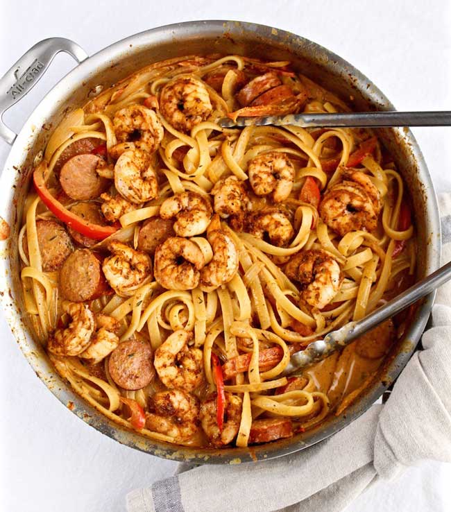 17 Comfort Food Recipes: Creamy Cajun Shrimp Pasta