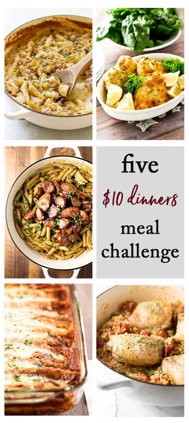 5-Day Meal Plan Challenge photo collage