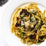 Easy sun-dried tomato pasta with sardines