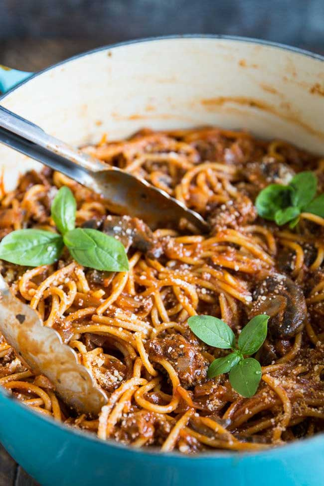 One-Pot Meals: One Pot Spaghetti