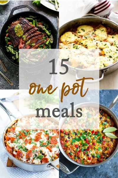 15 Delicious One-Pot Meals