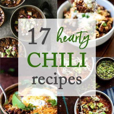 17 Hearty Chili Recipes