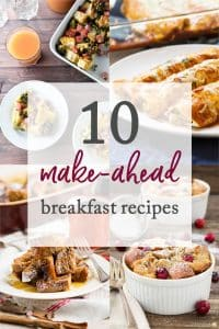 Make-Ahead Breakfast Recipes