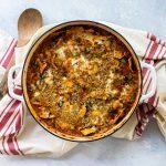 pan of baked ravioli