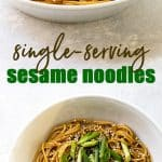 sesame noodle pinterest photo collage