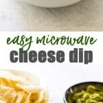 easy cheese dip photo collage