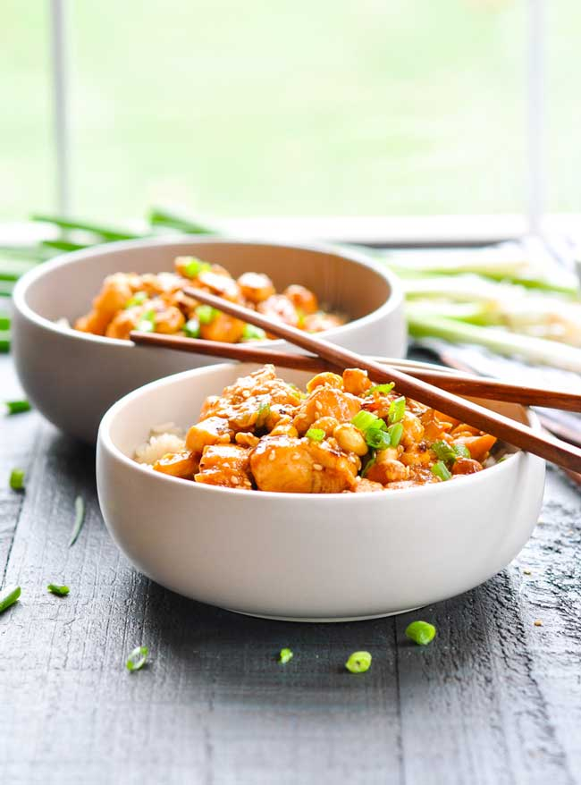dump and bake general tso chicken
