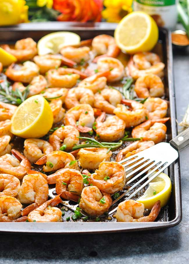 Sheet Pan New Orleans Barbecue Shrimp