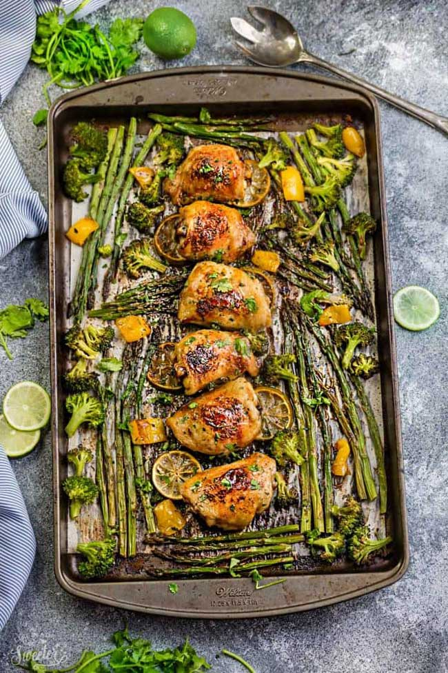 Honey Lime Chicken and Vegetables