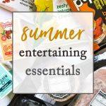 summer essentials collage