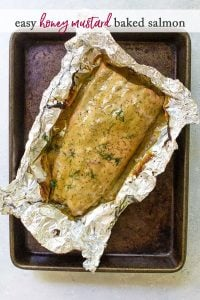 photo of honey mustard salmon