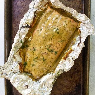 20-Minute Honey Mustard Salmon